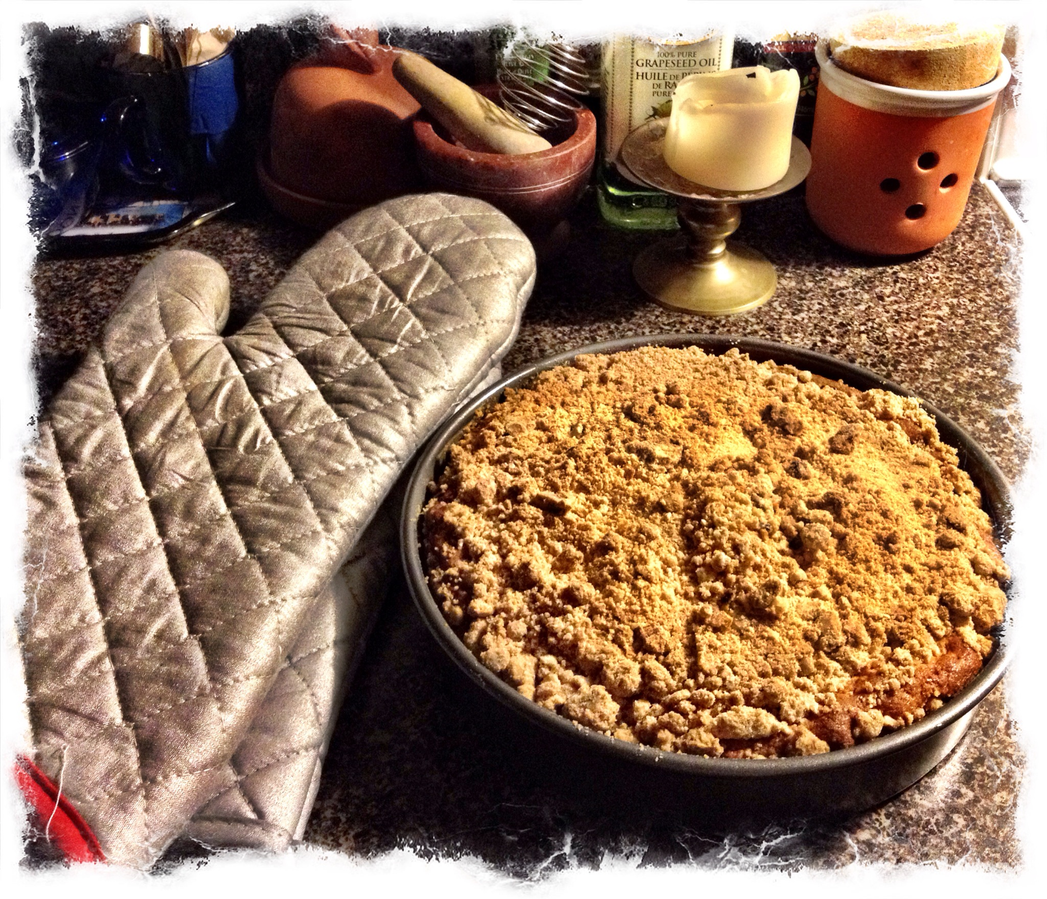 Ina Garten Address Blueberry Crumb Cake The Artsy Fartsy Chick